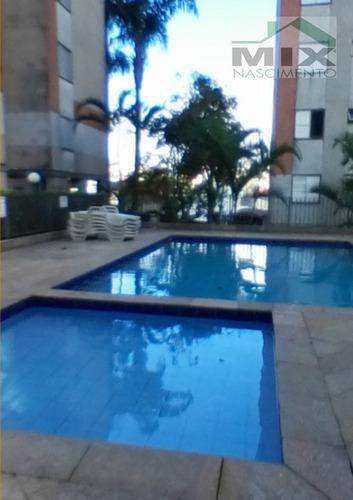 Imagem 1 de 4 de Apartamento Em Vila Marques - Diadema, Sp - 3437