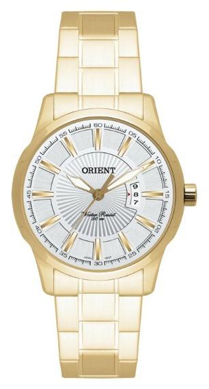 Relógio Orient Feminino Dourado Fundo Branco27373