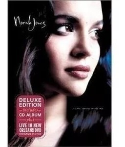 Dvd + Cd Norah Jones Come Away With Me Live In New Orleans