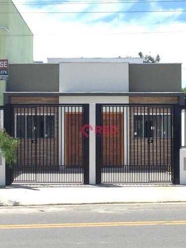 Casa Com 2 Dormitórios À Venda, 53 M² Por R$ 180.000,00 - Jardim Santa Marta - Sorocaba/sp - Ca0155