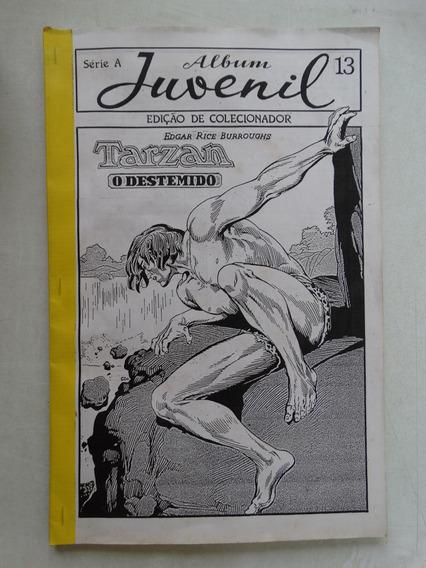 Álbum Juvenil Série A Nº 13! Tarzan! Gibizada Mai 1992!
