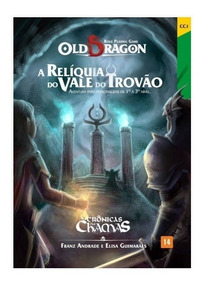 Old Dragon - A Relíquia Do Vale Do Trovão - Rpg - Redbox