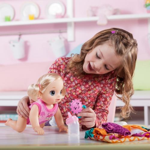 Muñeca Baby Alive Bebé Va Conmigo Go Bye Bye Gatea Hasbro