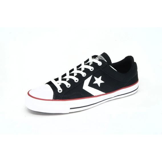 Tênis Casual Converse All Star Playerox Preto Unissex - Co01