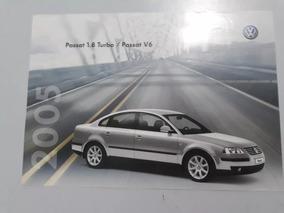 Passat 1.8 Turbo 2005 Catálogo Brochura Folder