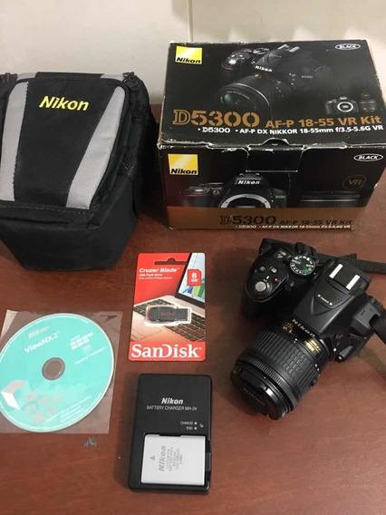 Câmera Nikon D5300 Original 18-55 Mm Dslr