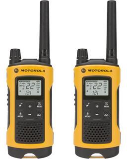 Rádio Comunicador Talkabout 35km T400br Amarelo Motorola - P