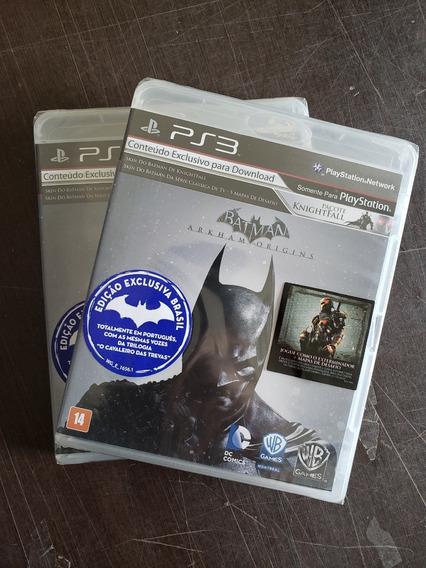 Game Batman Arkham Origins Total Português Mídia Física Ps3