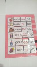 Materias Estruturado Para Alfabetização