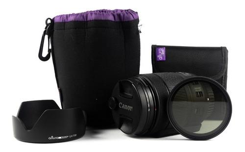 Lente Canon 18-135mm Usm Is + Accesorios