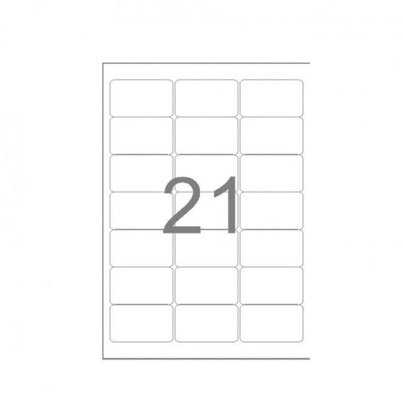 Etiqueta A4260 38,1x63,5mm 25 Fls 21 Etiquetas - Maxprint