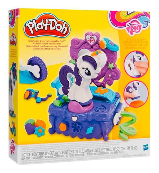 Play Doh Rarity Style Pony Peina Y Sella Original Hasbro