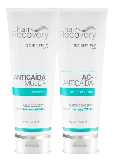 Shampoo Y Acondicionador Anticaída Mujer De Hair Recovery