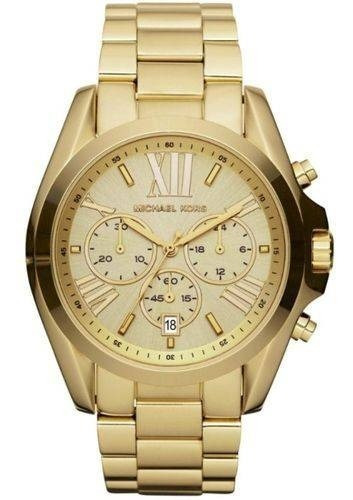 Relógio Michael Kors Mk5605-4dn Dourado