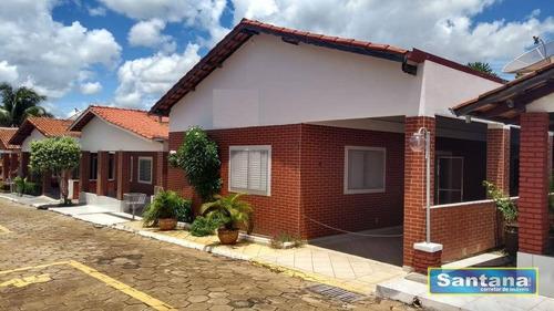 Chale Com 4 Dormitórios À Venda, 170 M² Por R$ 298.000 - Mansões Águas Quentes - Caldas Novas/go - Ca0009