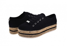 Zapatos Steve Madden Infini Te Fabric Navy 22.0-27.0 Damas