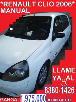Renault Clio 2006 Hb 1.975.000 Al 8380-1426- Recibo