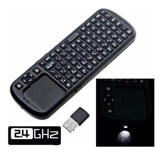 Mini Teclado Sem Fio Touchpad Wireless Smart Tv Pc Game