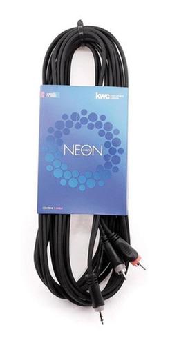 Cable Kwc 9002 Mini Plug A 2 Rca 6 Mts.