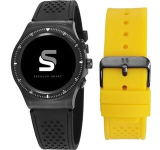 Relógio Unissex Smartwatch Urbano 79000gpsvpv1 Seculus