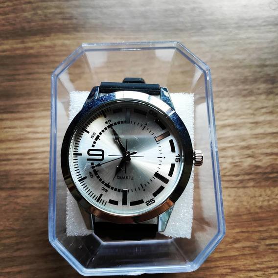 Relógio Masculino Beta - Silver Black - Pronta Entrega