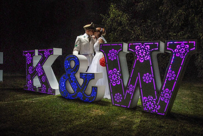 Letras Eventos, Matrimonios, Fiestas En 3d (arriendo)