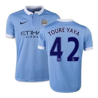 Camisa Uniforme Manchester City Infantil