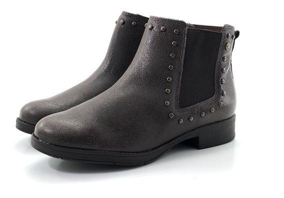 Stitching Catrine Botita Elegante Moda El Mercado De Zapatos