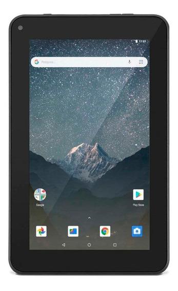 """Tablet com capa Multilaser M7S Go 7"""" 16GB preto com memória RAM 1GB"""