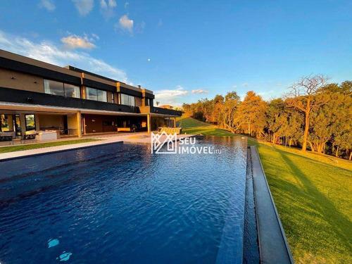Imagem 1 de 30 de Casa Com 6 Dormitórios À Venda, 1100 M² Por R$ 14.000.000,00 - Condomínio Terras De São José Ii - Itu/sp - Ca1595