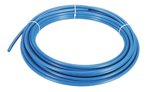 15 Mts Manguera 1/4 Filtro Dispenser Agua Osmosis Azul