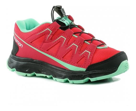 Zapatillas Running Salomon Ota J Kids 377370 Envios Pais