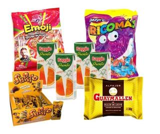 005 - Combo Golosinas Cumpleaños - Lollipop - 30 Chicos