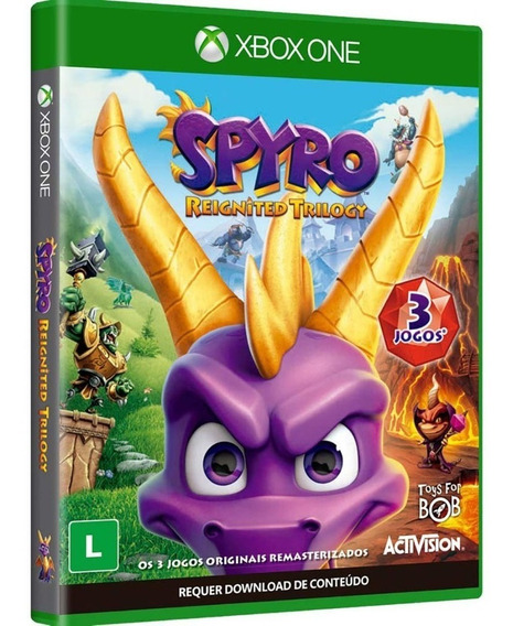 Game Spyro Reignited Trilogy - Xbox One Lacrado