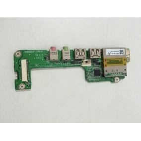 Placa De Som+usb Leitor De Cartão Netbook Acer Zg5 B99