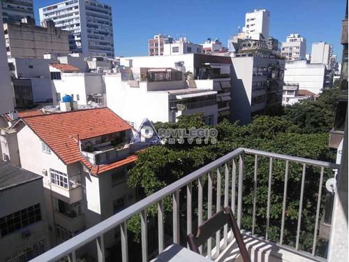 Imagem 1 de 20 de Cobertura À Venda, 3 Quartos, 1 Suíte, 2 Vagas, Ipanema - Rio De Janeiro/rj - 7611