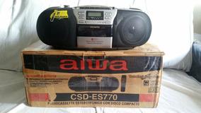 Microsistem Aiwa - Rádio/tape Deck/cd Player