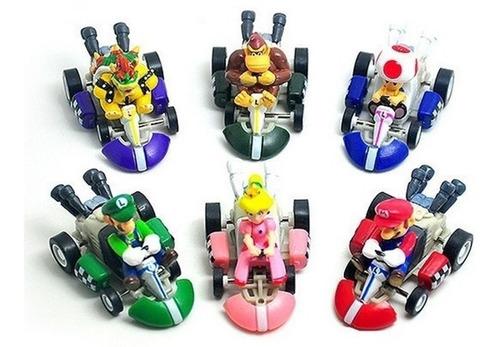 Figura Mario Kart Unidad Con Impulso Varios Motivos
