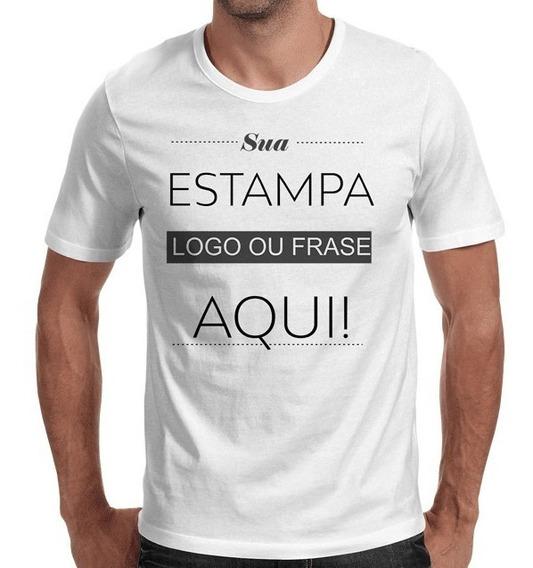 Camisetas Personalizada Sua Logo Promoção 40 Pçs