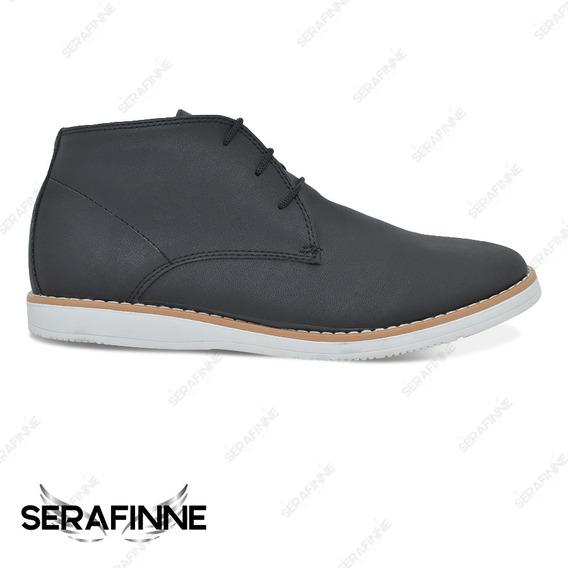 Zapato Bota Vestir Urbano Hombre Sommet 685