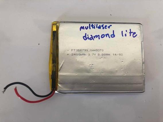 Bateria Tablet Multilaser Diamond Lite Original 2400 Mah 3.7