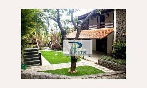 Casa Com 5 Dormitórios À Venda Por R$ 1.600.000,00 - Piratininga - Niterói/rj - Ca0539