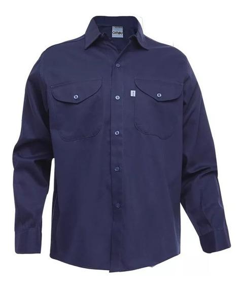 Camisa Trabajo Ombu Original Talle 38-48 Bordamos/estampamos