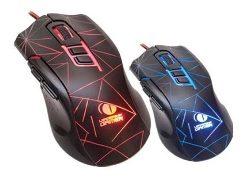 Mouse Gamer 7 Botões Usb Optico Sniper Leadership