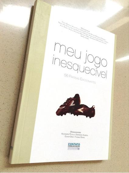 Livro Meu Jogo Inesquecível Seleção Brasileira Brasil