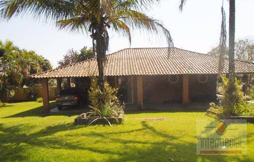 Chácara Residencial À Venda, Jardim Santa Adelia, Boituva. - Ch0491