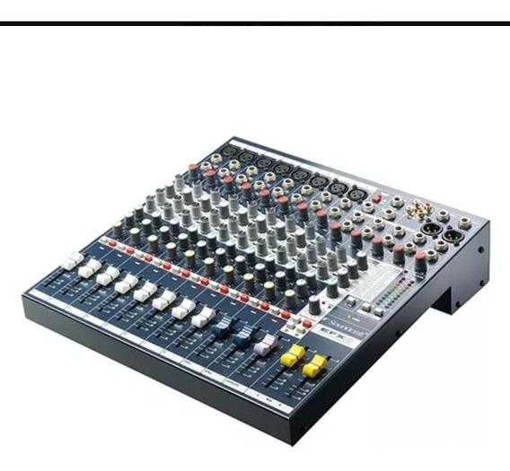 Mesa De Som Profissional Soundcraft Exf8 Semi Nova