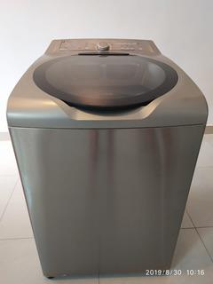 Máquina De Lavar Brastemp Ative 11kg Cor Inox Produto Seminovo
