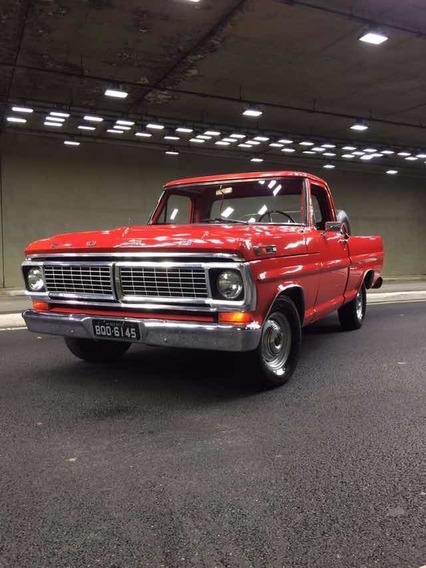 Ford F 100 V8 Ano 73
