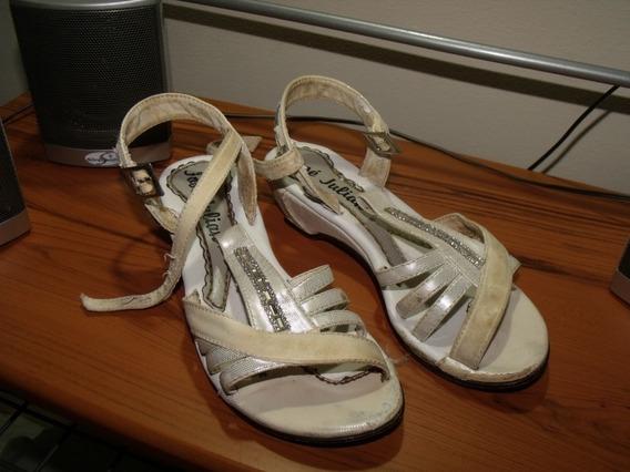 Sandalias Blancas Para Niña